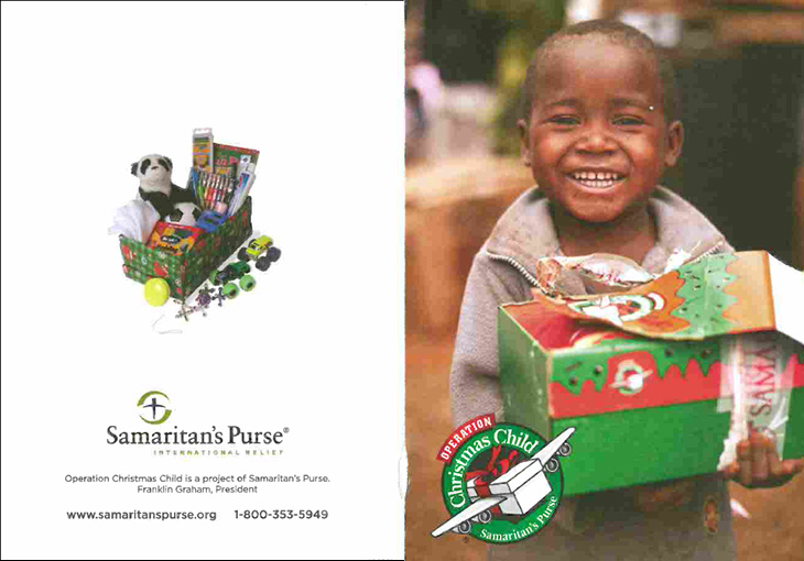 operation christmas child flyer