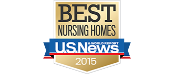 US News Best Nursing Homes 2015 award