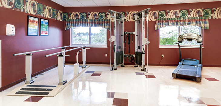 Minot exercise room