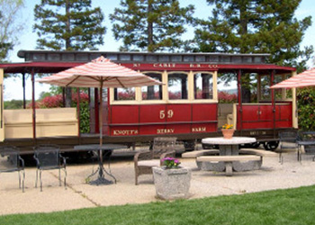 Old Knott's Berry Farm caboose