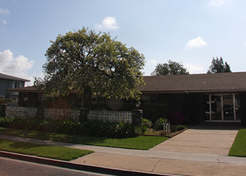 Mesa Verde exterior feature a large mature tree and lush green lawns